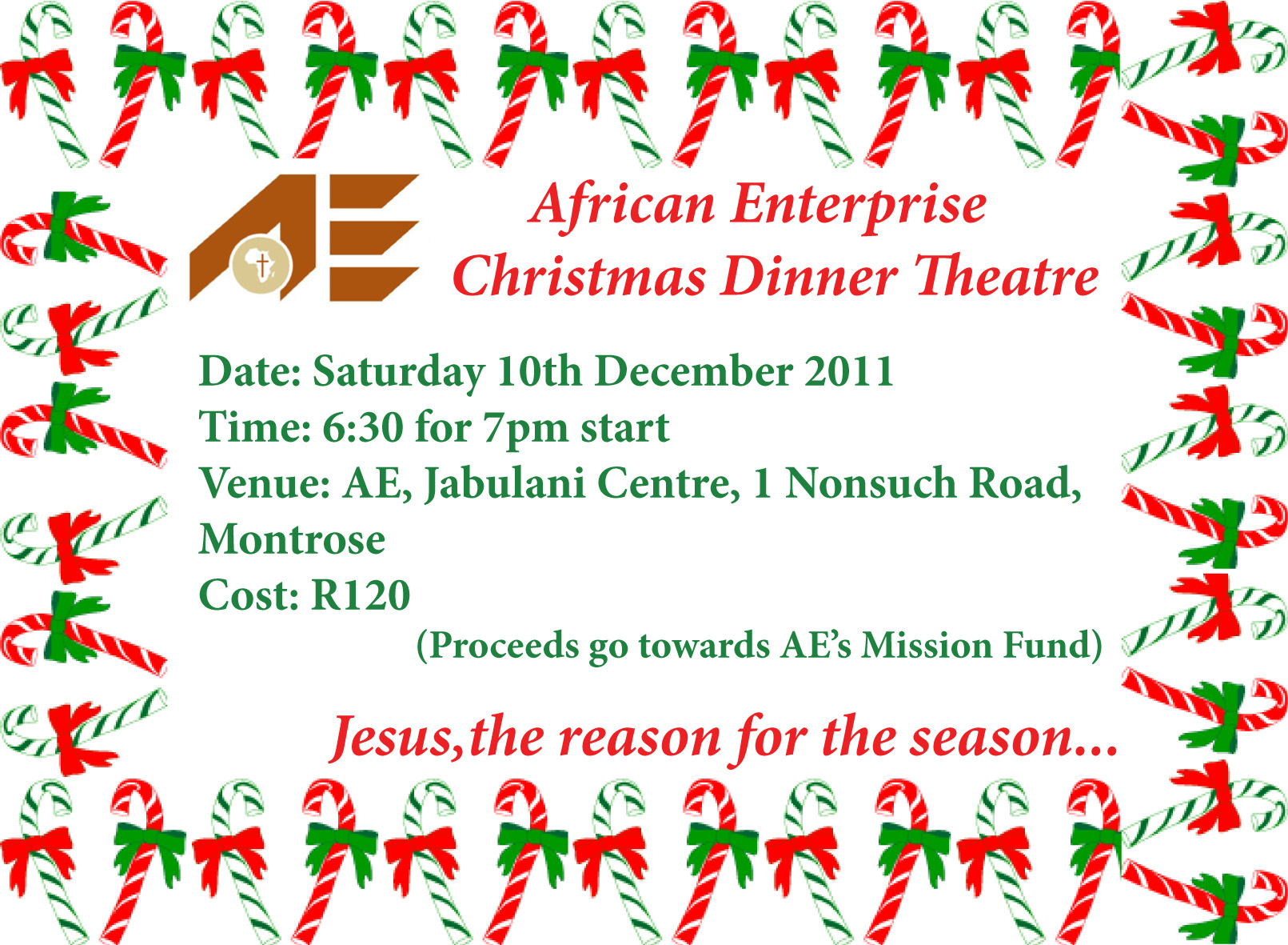 Join us as we celebrate Christmas together! | African Enterprise ...